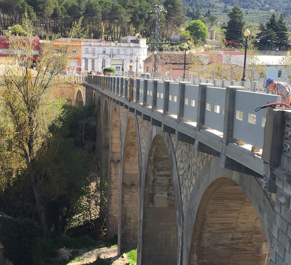 Obra Puente de Bocairent